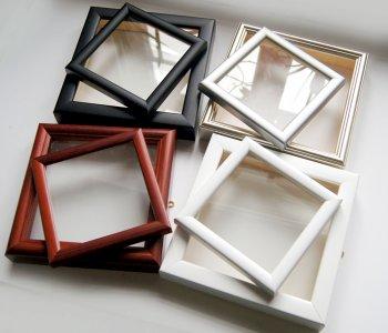 Рамки из широкого багета