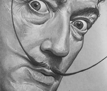 Сальвадор Дали - автопортрет (Сульковский)