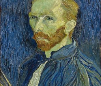 Ван Гог - автопортрет с кистями (Морфо)