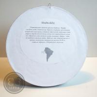 Морфо Дидиус в круглой рамке
